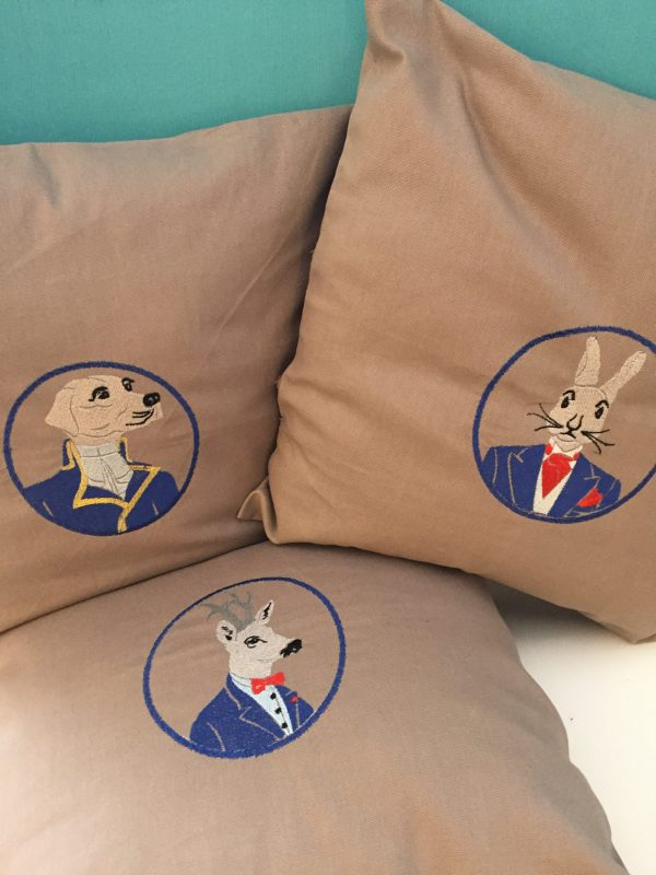 coussin chasse